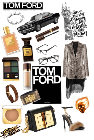 riding with Tom ford 🚘xox