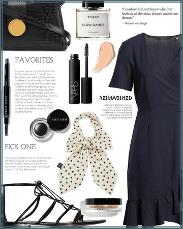 Simple Summer Dress ( Black Power )