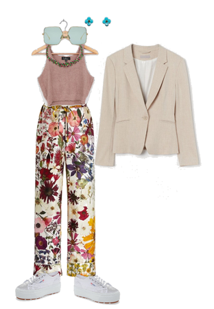 FLower Statement Trousers