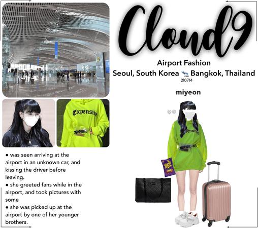 Cloud9 (구름아홉) | Airport Fashion; Seoul, SK 🛬 Bangkok, TH