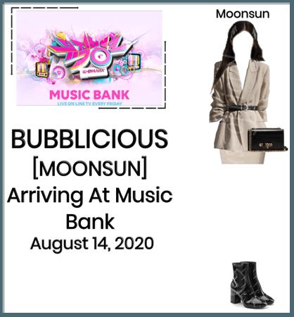BUBBLICIOUS (신기한) [MOONSUN] Arriving at Music Bank