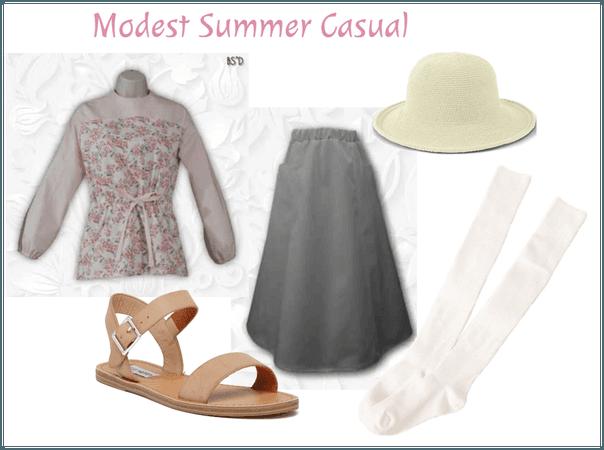 Modest Summer Casual