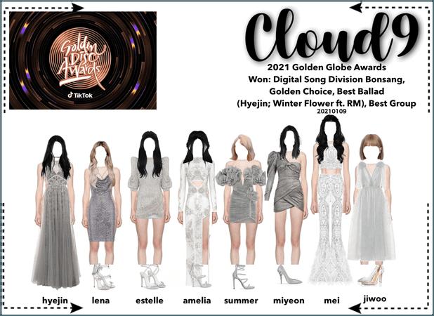 Cloud9 (구름아홉)  35th Golden Disc Awards Red Carpet