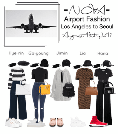 -NOVA- Airport Fashion- LA to Seoul