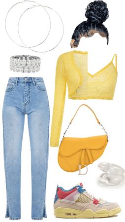 yellow + guava