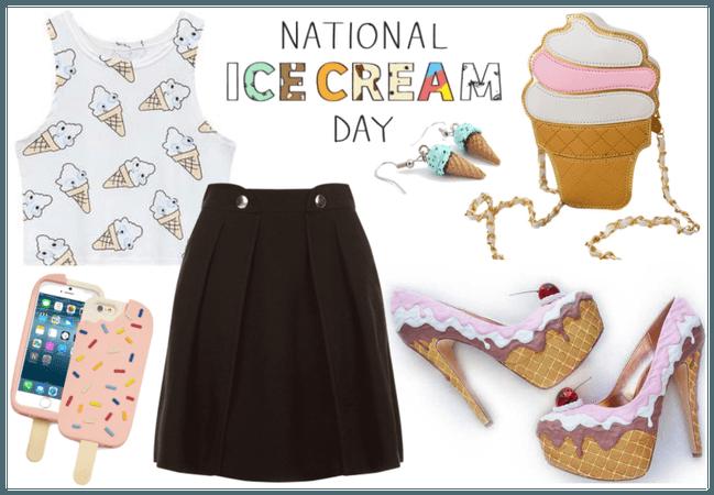 National Ice Cream Day fashion