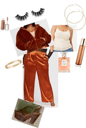 copper gold monochromatic vibes