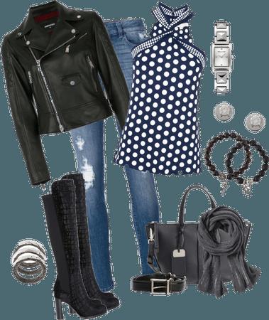 Polka Dots & Jeans