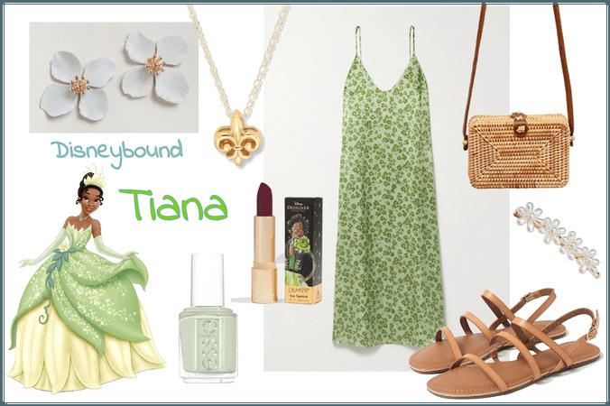 Disneybound Tiana Princess and the Frog