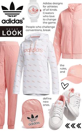 Adidas Total Look