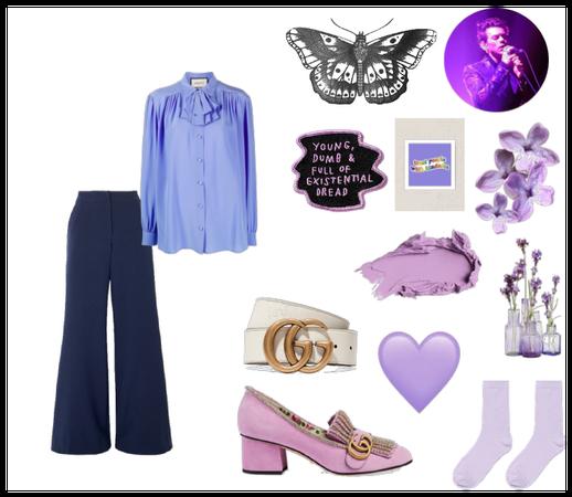 purple harry styles