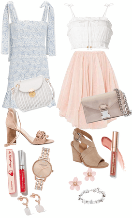 Easter Look: Blue or Pink?
