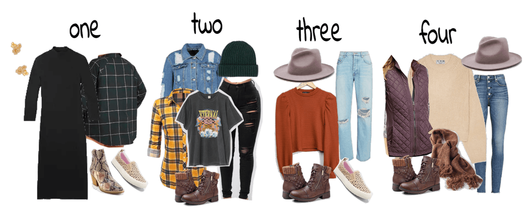 Fall 2020 Apple Picking Outfit Options