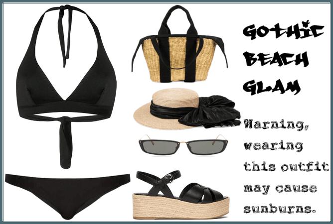 Gothic Beach Glam