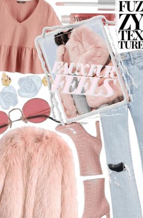 Faux Fur Feels: Pastels