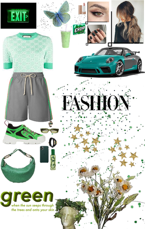 Green gucci 🦖👑