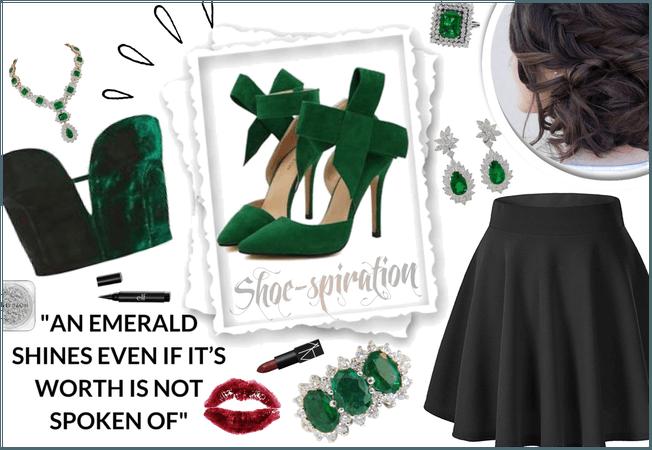 An Emerald Shines: Shoe Inspiration