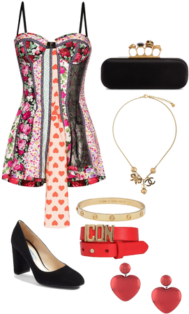 eclectic dress outfit