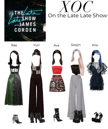 XOC on the Late Late Show