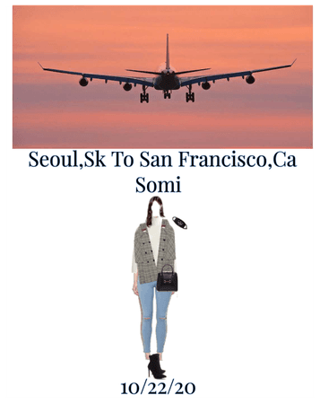 Somi Airport Outfit