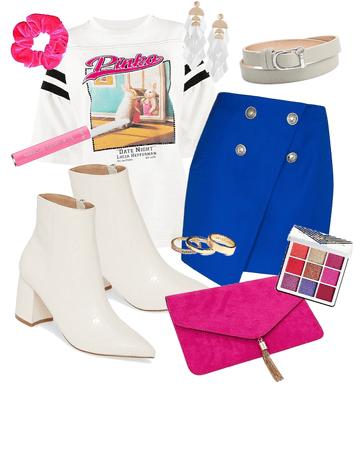 trendy pink n' blue