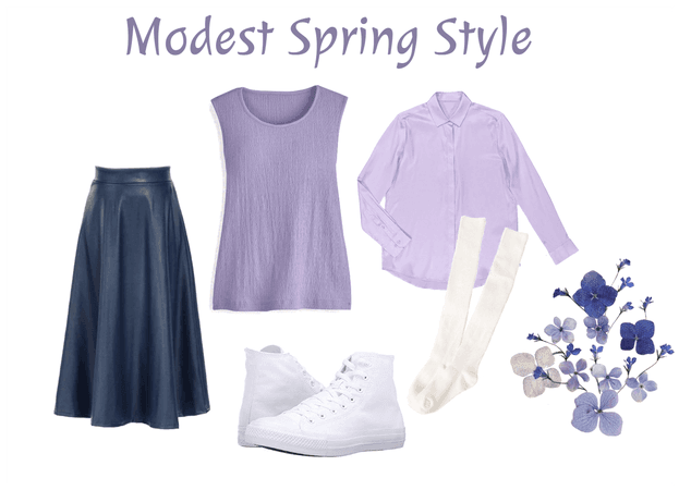 Modest Spring Style