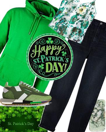 St Patrick's day glow