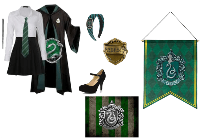 hougwarts house cup (slytherin)