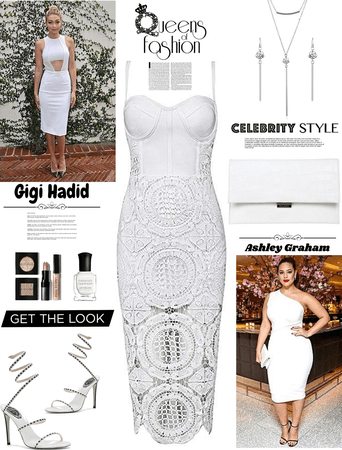 SUMMER IN WHITE/celebrity's in white/get the look