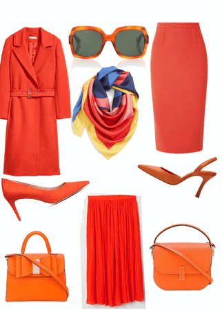 Orange you glad you can wear this!