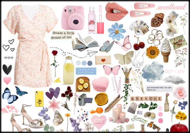Soft pastel picnic