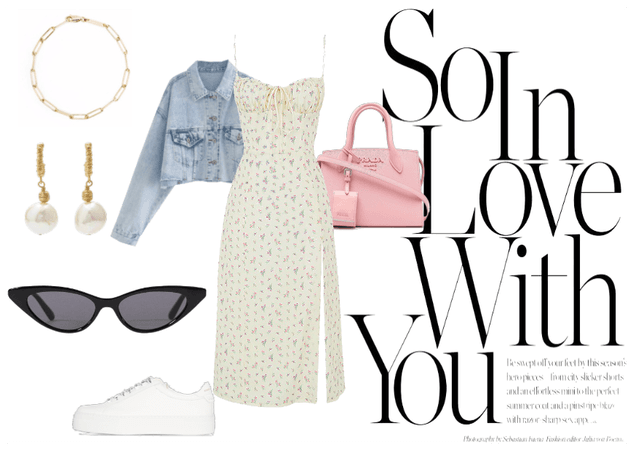 summer outfit and spring