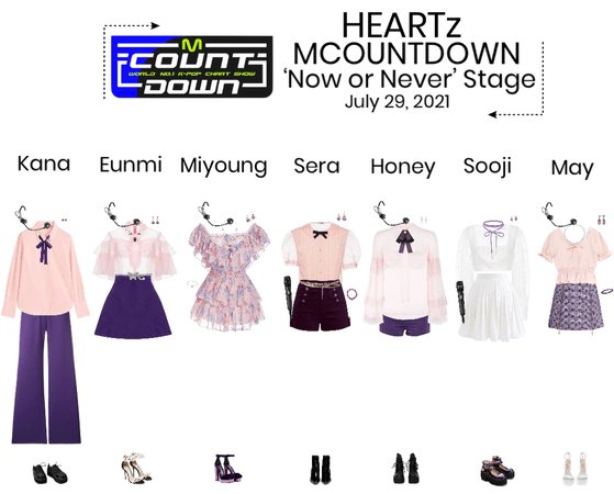 HEARTz//'Now or Never' MCOUNTDOWN Stage