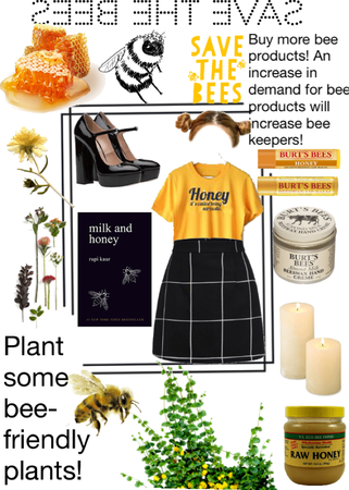 Look #26: save the bees
