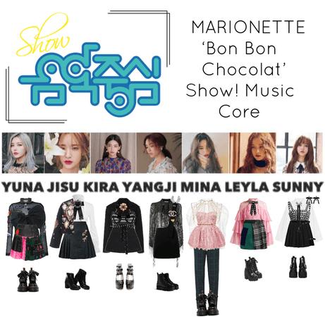 {MARIONETTE} 'Bon Bon Chocolat' Show! Music Core