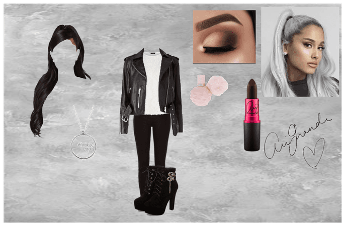 ariana grande inspired school outfit