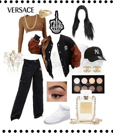 streetwear brown/black