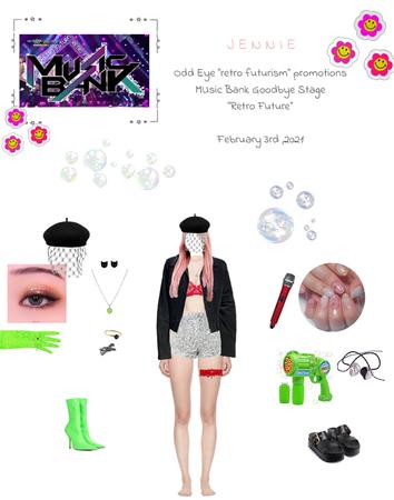 Lee Jennie with Odd Eye: Music Bank Goodbye Stage {02.03.2021}