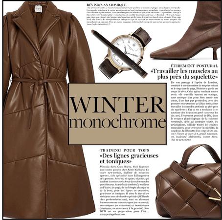 Fashion File: Shades Of Brown Winter Monochrome - Contest