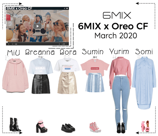 《6mix》Oreo CF Commerical