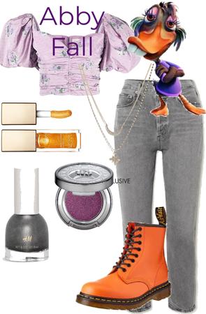 Abby Mallard Fall outfit