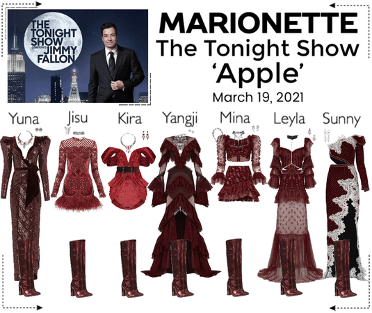 마리오네트 (MARIONETTE) - The Tonight Show w/ Jimmy Fallon