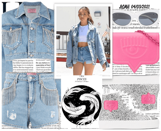 Denim Outfit for Pisces