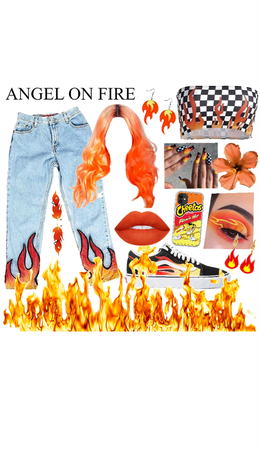 Flame and Fire Aesthetic 🔥