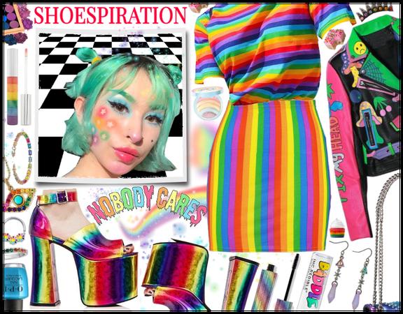 Shoespiration: Rainbow Extravaganza
