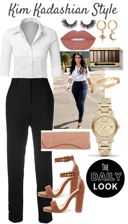 Kim Kardashian's Daily Look