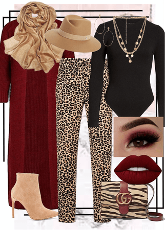 Cold Weather Layers - Leopard Edition