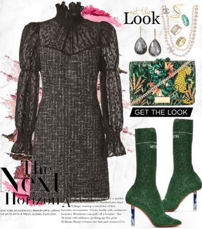Tweed & Lace.