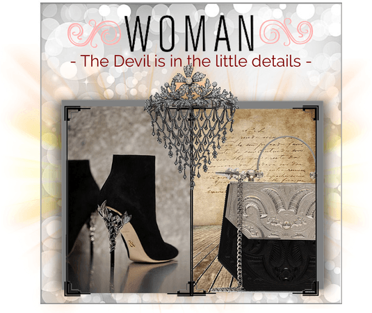 Woman the Devil is in the little details