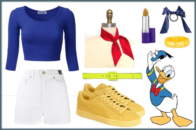 Donald Duck - DisneyBound